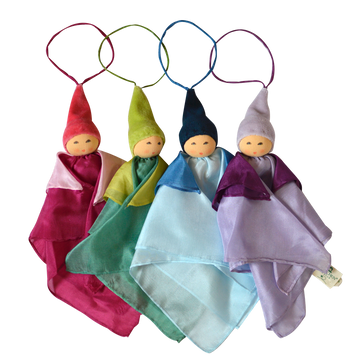 Small Kerchief Fairy Doll - Assorted Colors - Nanchen - Bella Luna Toys