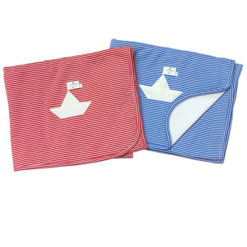 Nanchen Cuddly Blanket - Sailboat | Bella Luna Toys