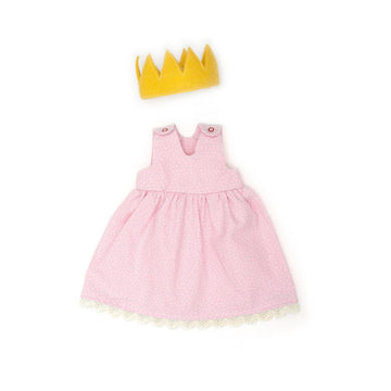 Confetti Pink Princess Dress - Organic Doll Clothing