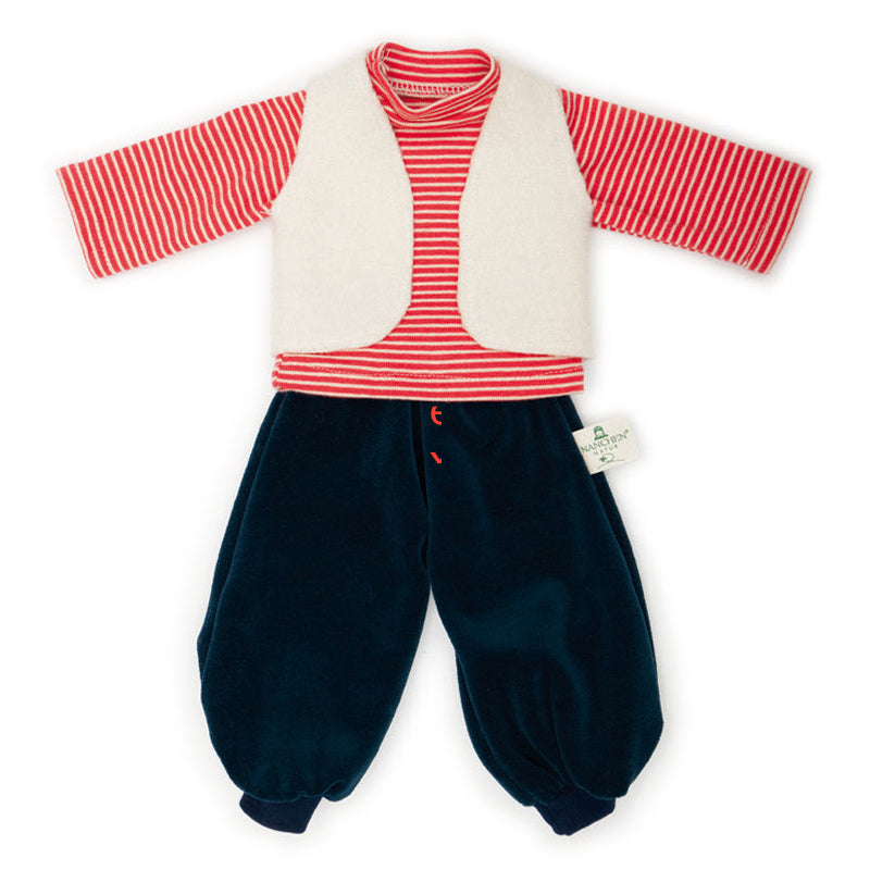 Boy's Holiday Outfit - Organic Doll Clothing