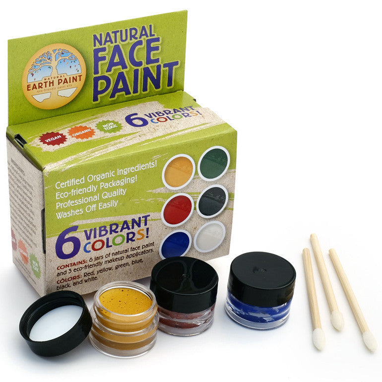Natural  Face Painting Kit - 6 Pc