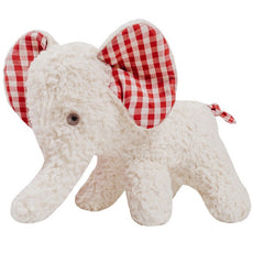 Organic Stuffed Elephant - Soft Plush Toy - Efie - Germany