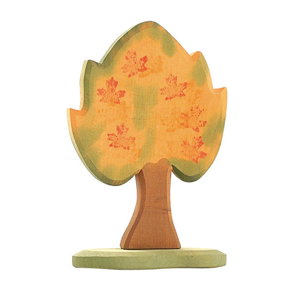 Ostheimer Maple Tree with Wooden Base