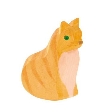 Ostheimer Cat, Orange, Sitting