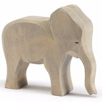 Ostheimer Female Elephant Cow - Wooden Toy Animal Figure - Bella Luna Toys