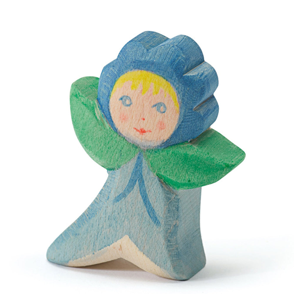 Ostheimer Flower Children - Forget-Me-Not - Wooden Figure Toy - Bella Luna Toys