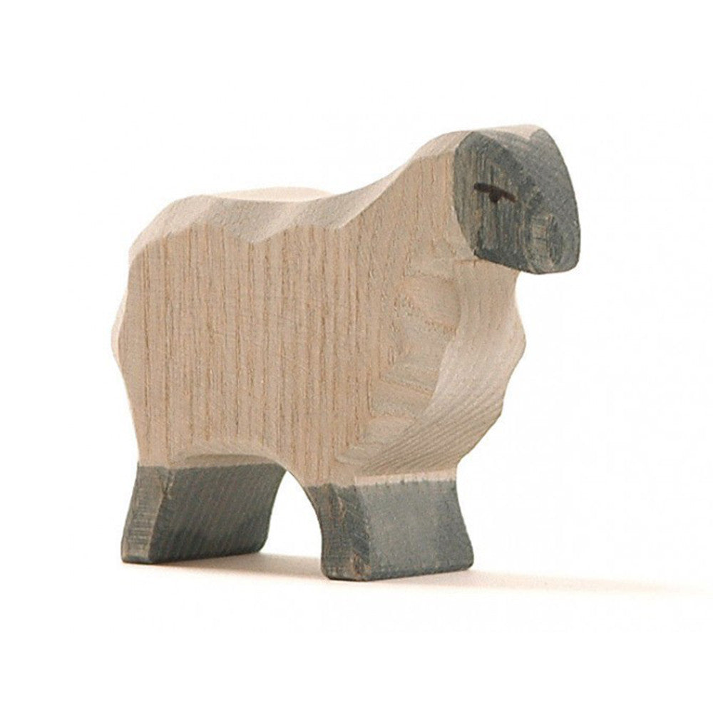 Ostheimer Moorland Sheep - Wooden Toy Figure