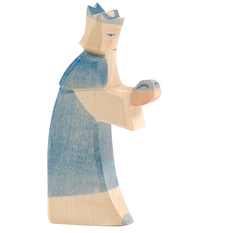 Ostheimer Blue King - Nativity Figures