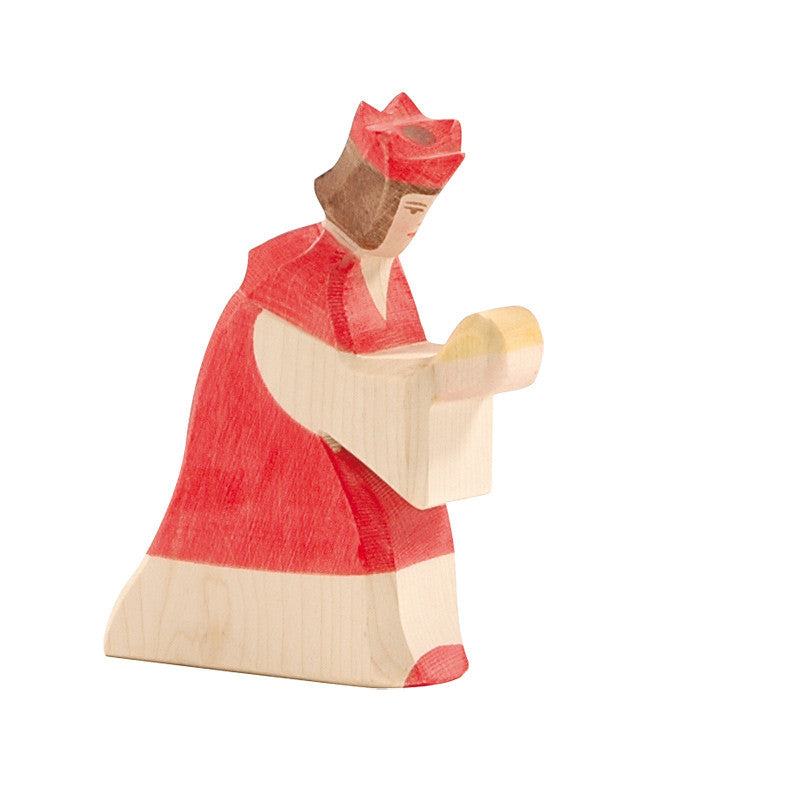 Ostheimer Red King - Nativity Figures