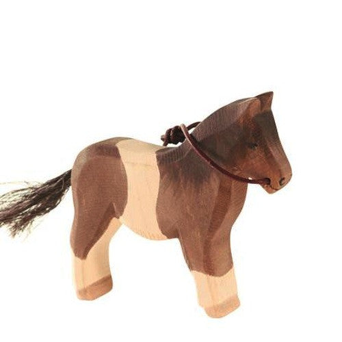 Ostheimer Pony, Brown & White, Reins 11300