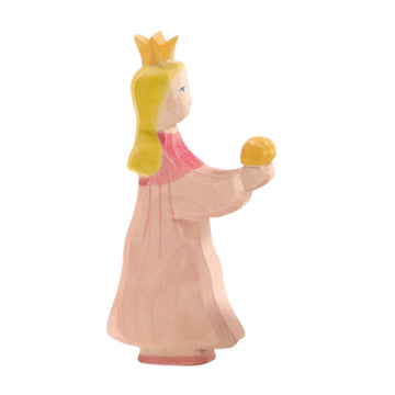 Ostheimer Princess for Frog King - Wooden Fairy Tale Toy Figure