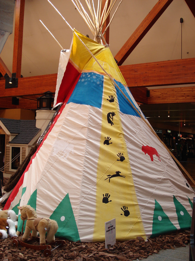 Paint Your Own Teepee!