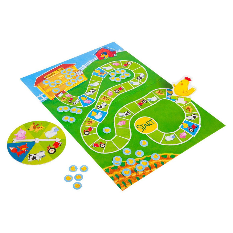 Peaceable Kingdom | Count Your Chickens Board Game | Bella Luna Toys