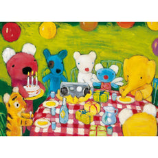 Penelope's Birthday Party - Kids Wooden Jigsaw Puzzle