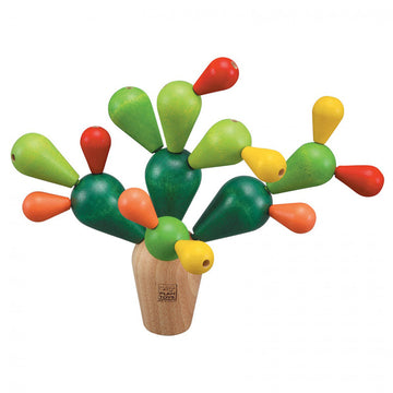 PlanToys Balancing Cactus Wooden Toy Game