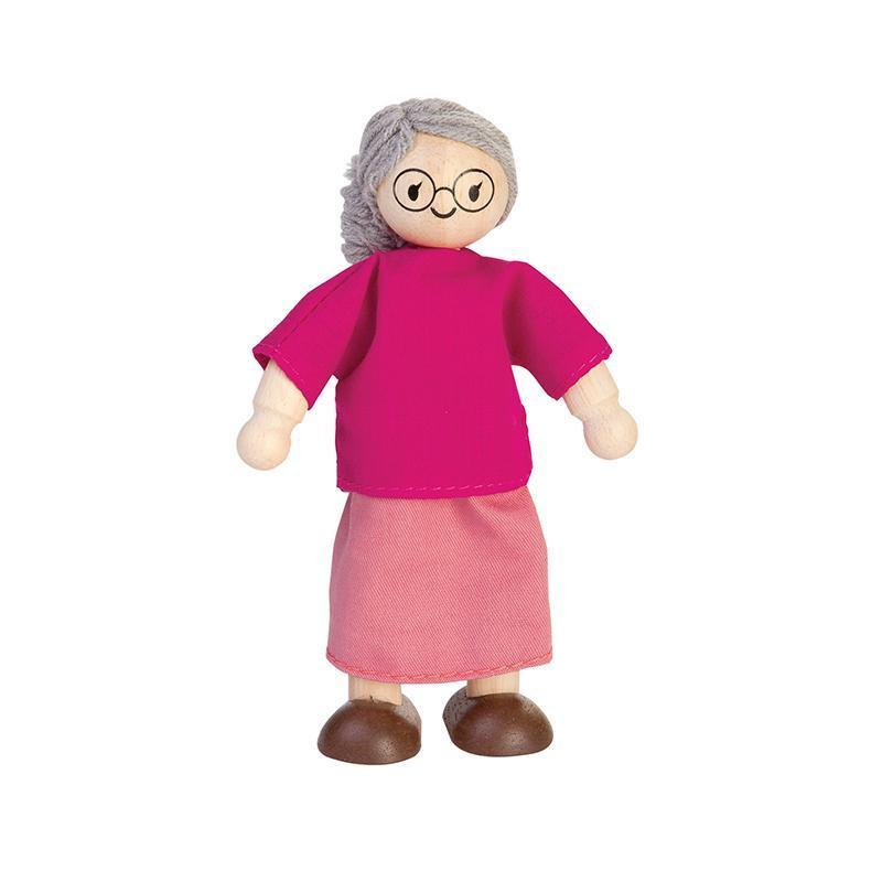 Grandmother Dollhouse Doll - Plan Toys - Bella Luna Toys
