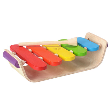 Plan Toys Oval Wooden Xylophone Toy