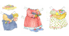 Bunny Rabbit Paper Doll Outfits - 1