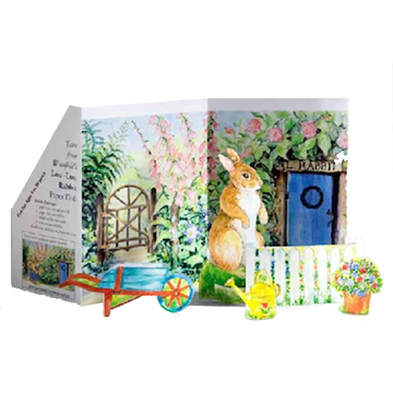 Tales from Woodfield Rabbit Paper Doll Kit