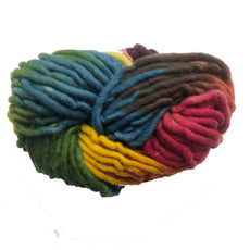 Filges Wool Chunky Rainbow Yarn for Finger Knitting - Plant-Dyed - Bella Luna Toys