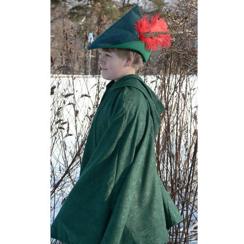 Robin Hood Costume | Green Cape