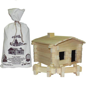 Roy Toy Cabin, Log Building Kit