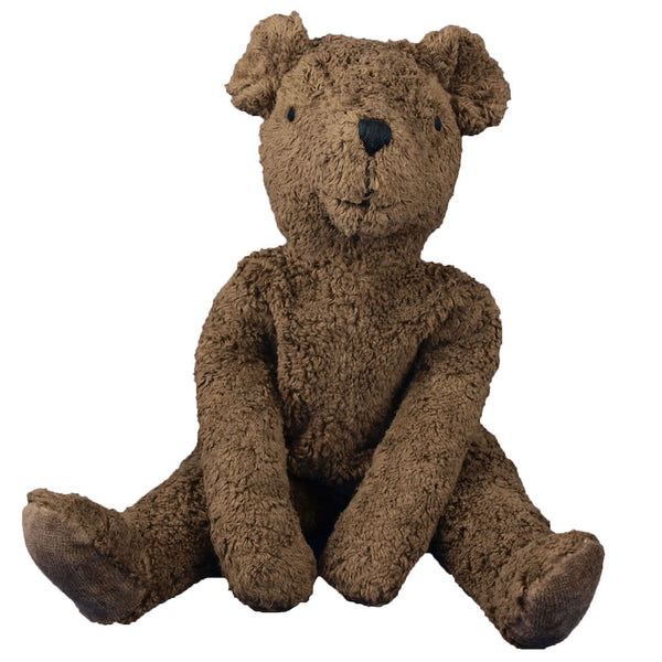 Senger Organic Brown Teddy Bear, Brown - Germany - Bella Luna Toys