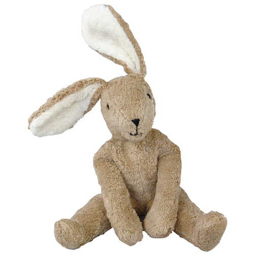 Small Toy Rabbits : Brown beige bunny rabbit soft organic plush toys
