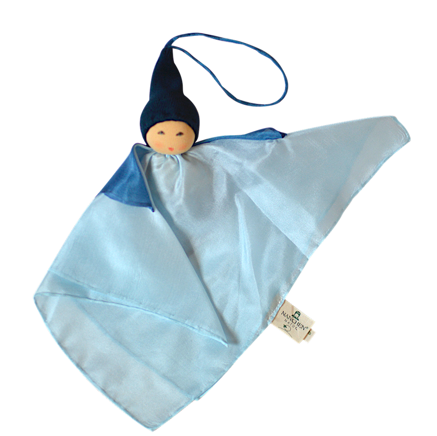 Small Kerchief Fairy Doll - Blue - Nanchen - Bella Luna Toys