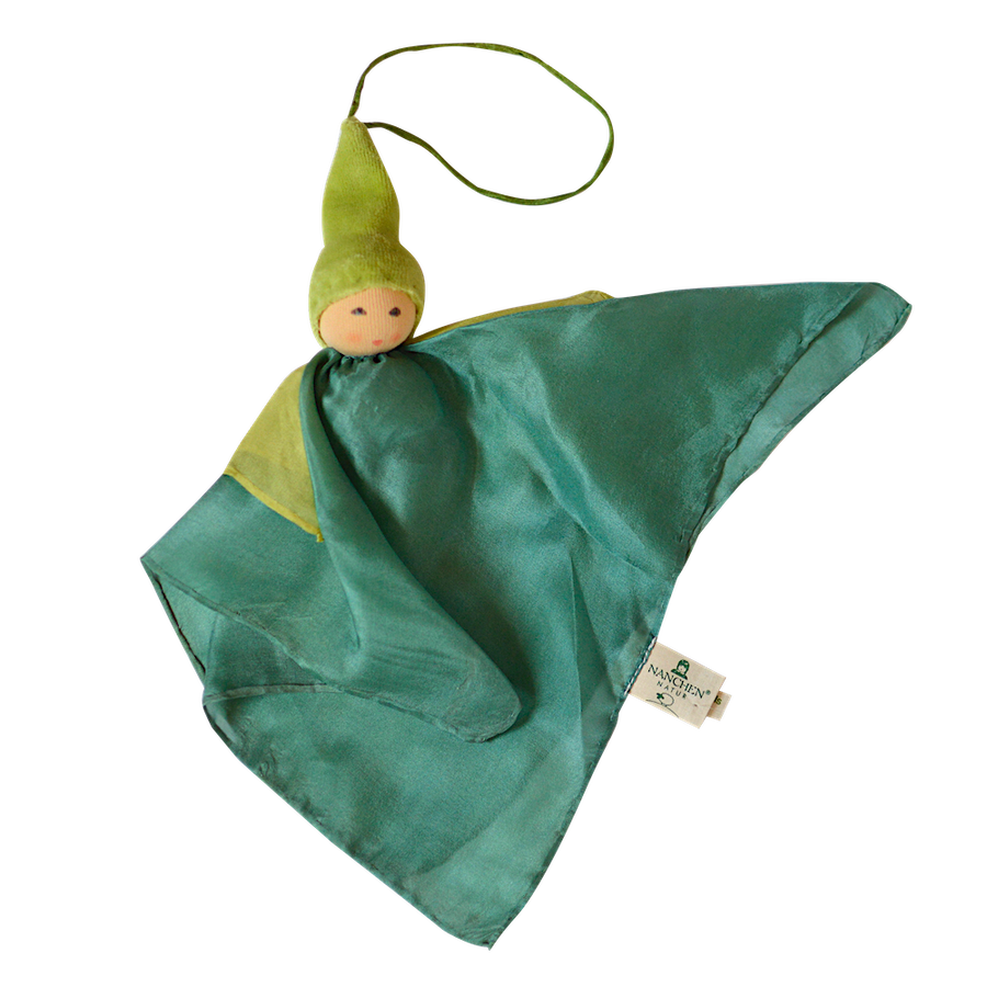 Small Kerchief Fairy Doll - Green - Nanchen - Bella Luna Toys