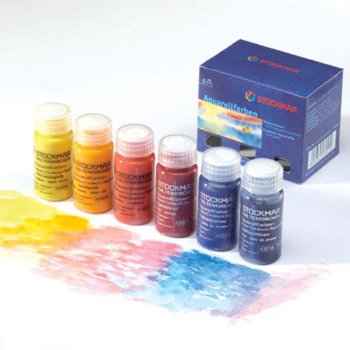 Stockmar Watercolor Paints - Set of Six