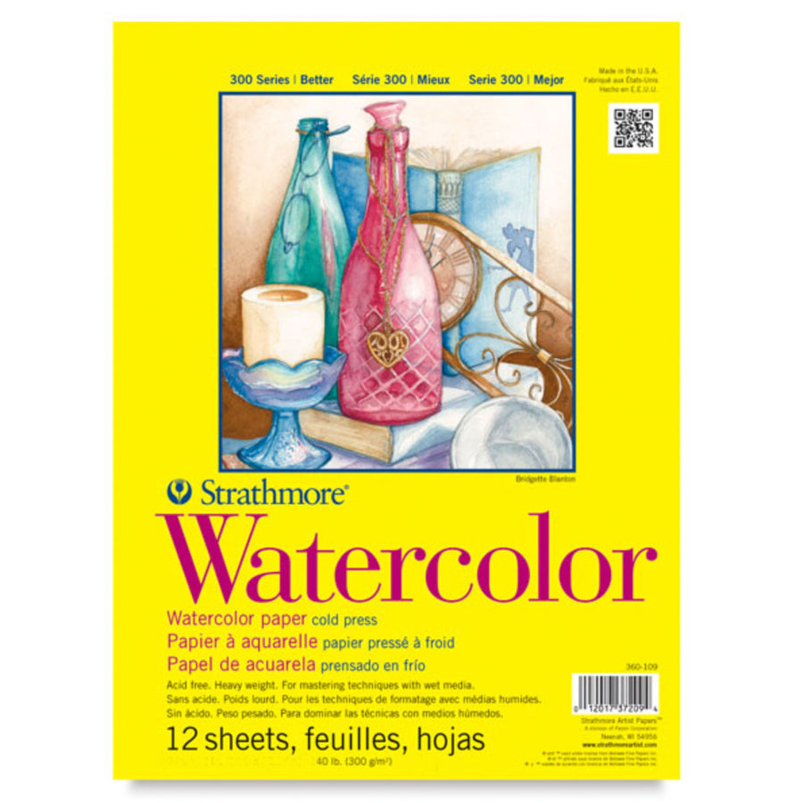 Strathmore 300 Watercolor Paper - Waldorf Painting - Bella Luna Toys