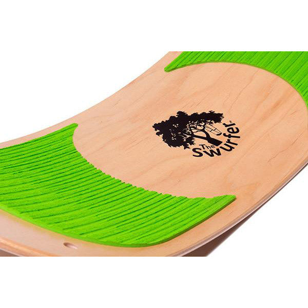 SwurfGrips - Swurfer with Grip Pads, Lime Green