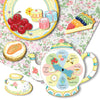 eeBoo Tea Party Game Pieces