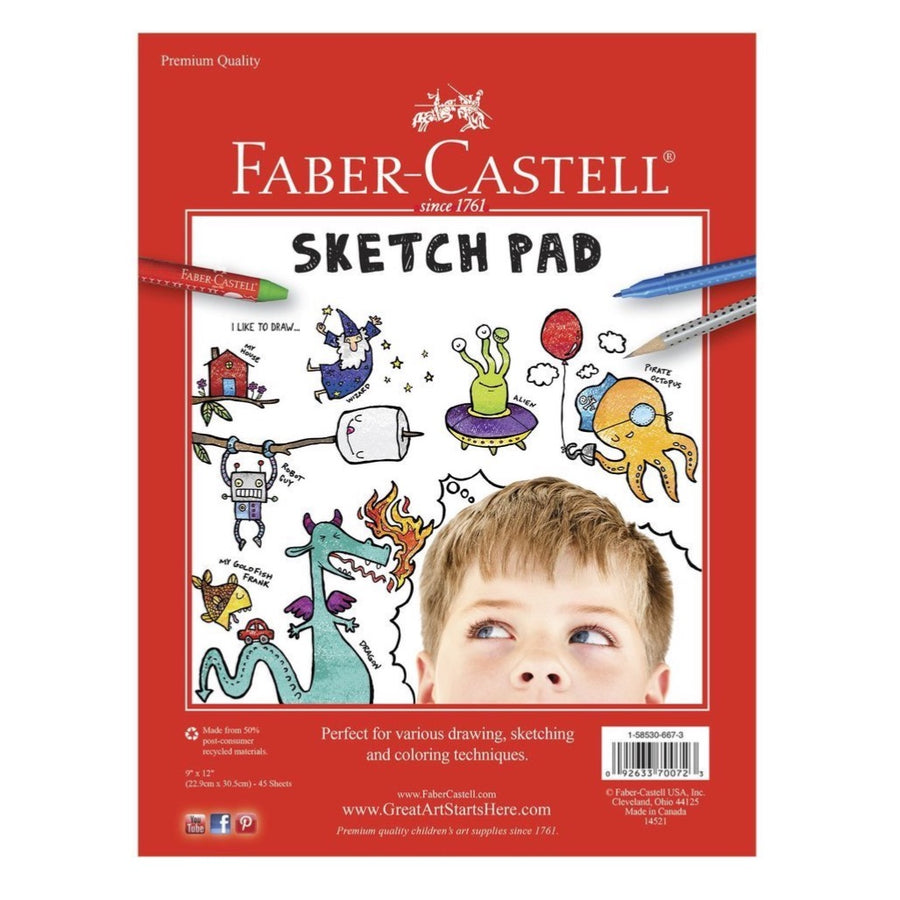 Faber Castell Kids Sketch Book | Drawing  Pad - Bella Luna Toys