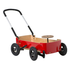Red Wooden Wagon from Wishbone Design