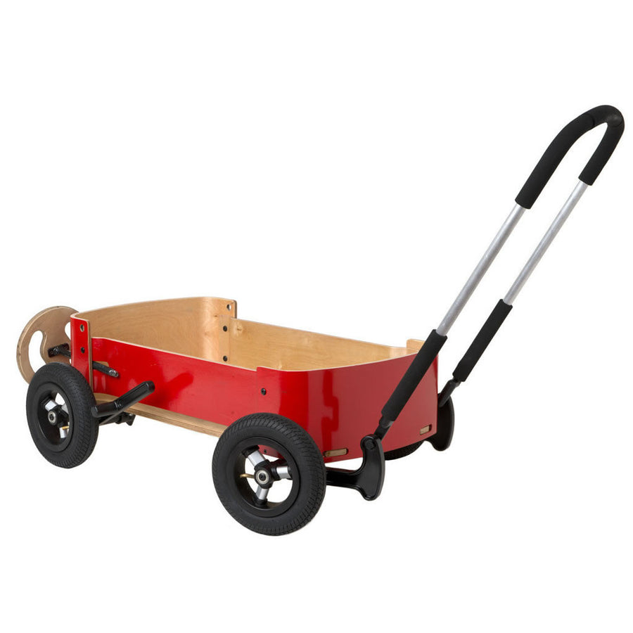 Wishbone Red Wooden Wagon