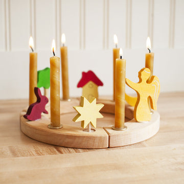 Wooden Waldorf Birthday Ring