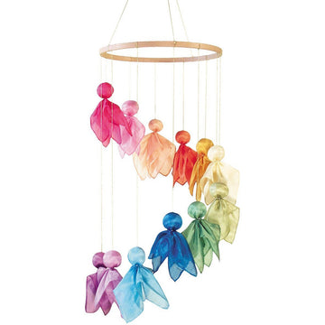 Waldorf Silk Fairy Baby Mobile Kit - Bella Luna Toys