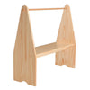 Single Waldorf Wooden Playstand, Natural - Bella Luna Toys
