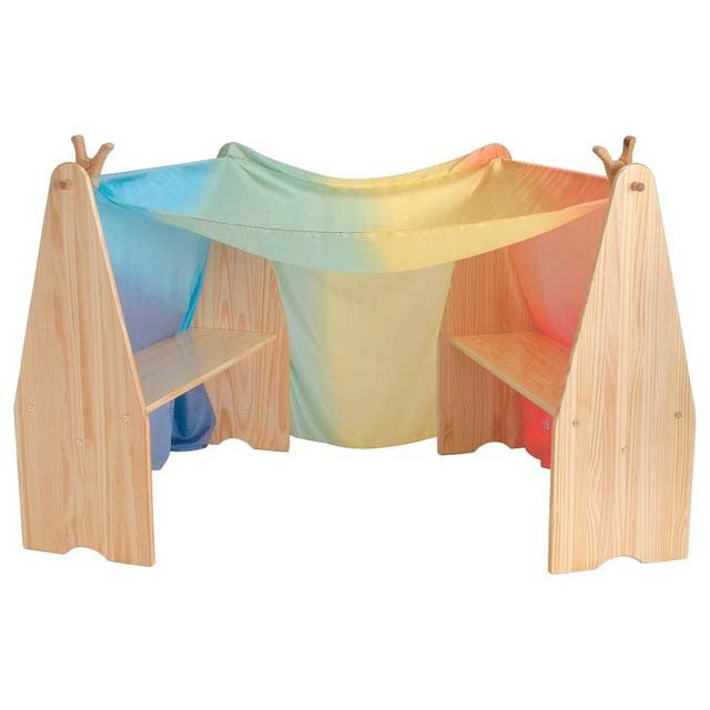 Waldorf Wooden Playstands with Optional Wooden Arch