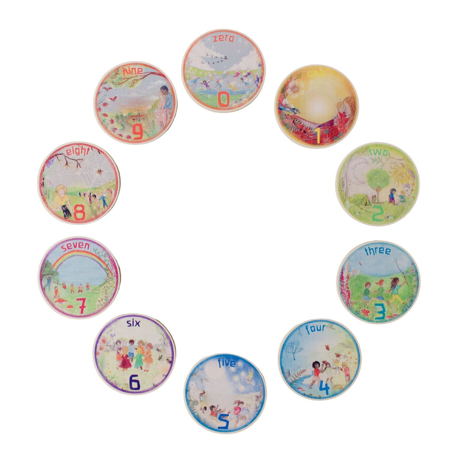 Waldorf Family Math Coins - Education Toy - Bella Luna Toys