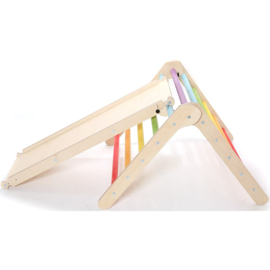 Sawdust & Rainbows Triangle - Foldable Climbing Frame
