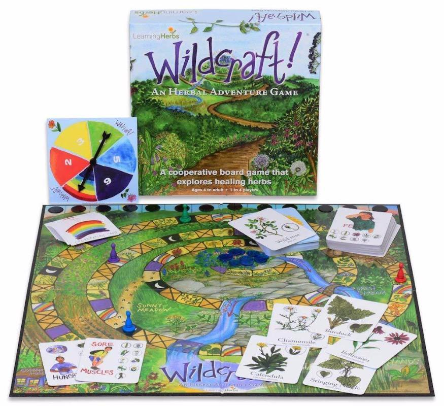 Wildcraft! An Herbal Adventure Cooperative Board Game - Bella Luna Toys