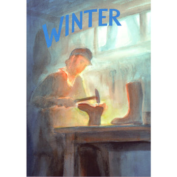 Winter: A Collection of Poems, Songs, and Stories for Young Children