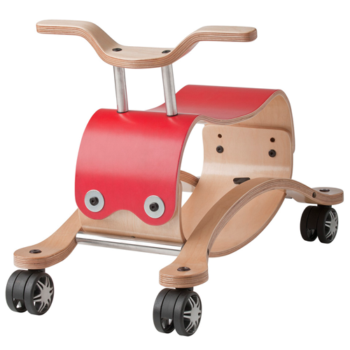 Wishbone Flip 2-in-1 Wooden Ride-On Toy