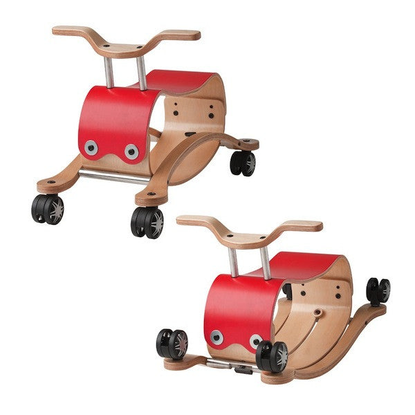 Wishbone Flip 2-in-1 Wooden Rocking/Ride-On Toy