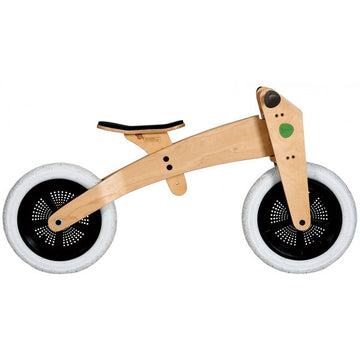 Wishbone 3-in-1 Wooden Balance Bike Tricycle