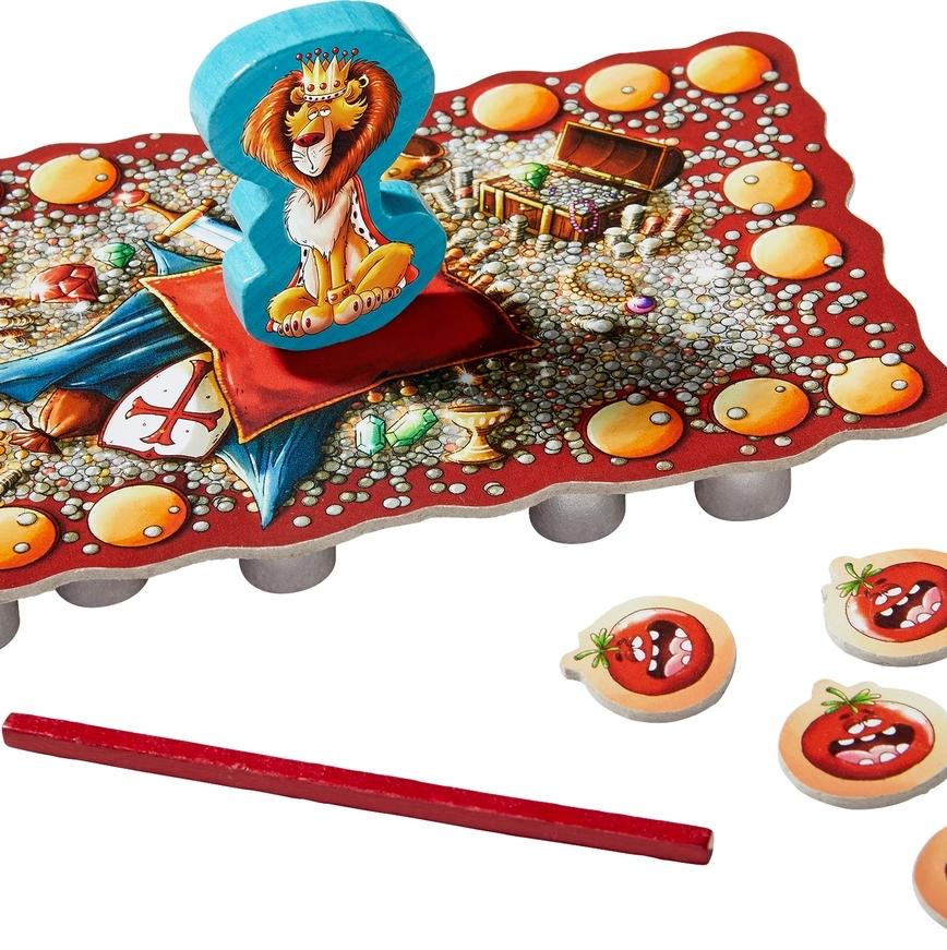Wobble King Game - Haba - Contents - Bella Luna Toys