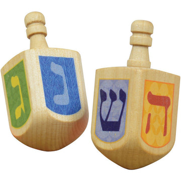Wooden Dreidels Game Kids